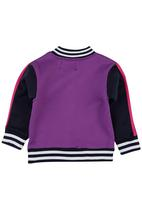 POP CANDY - Girls Jacket Mid Purple Mid Purple