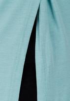 edit - Layered Tunic Green