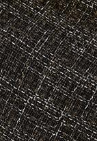 edit - Draped Knit Cardigan Black