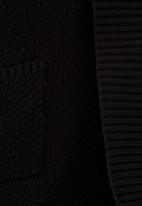 edit - Longer-length Cardigan Black