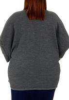 edit - Cocoon Jumper Dark Grey