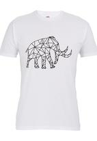 Ice Age - Short-sleeve T-shirt with Mammoth White