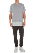 STYLE REPUBLIC - Longer-length T-shirt Grey