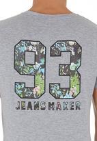 Blend - Number T-shirt Grey
