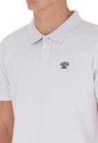 GUESS - Two-tone Golfer White