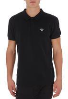 GUESS - Two-tone Golfer Black