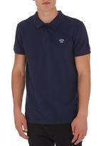 GUESS - Two-tone Golfer Dark Blue Dark Blue