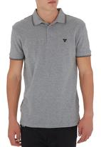 GUESS - Tipped Polo Mid Grey