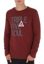 555 Soul - Washington T-shirt Red