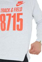 Nike - Nike Crew-neck Sweatshirt White