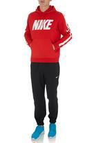 Nike - NIKE CLUB HOODY-SWOOSH PLUS Red