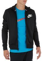 Nike - Nike Tribute Track Jacket Black/White Black and White