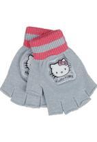 Sanrio Ninja Turtles - Hello Kitty Gloves Grey