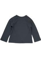 Sticky Fudge - T-shirt with Car Print Dark Grey Dark Grey