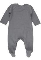 Sticky Fudge - Full Bodysuit with Print Detail Grey