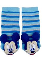 Character Baby - Mickey Mouse rattle sock Mid Blue