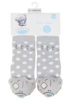 Character Baby - Tatty Teddy rattle sock Grey