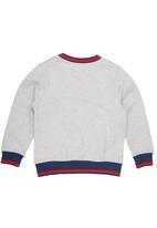 Converse - Rib Crew-neck Sweater Beige