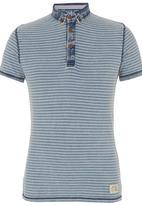 Spree Designer - Stripe Golfer Mid Blue Mid Blue