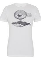 Blend - Printed T-shirt White