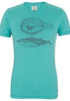 Spree Designer - Printed T-shirt Mid Green Mid Green
