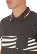 Tokyo Tigers - Tamerton Golfer Grey