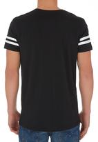 Solid - Nugget Tee. Black and White