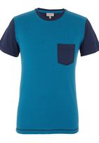 555 Soul - Wanatah T-shirt Turquoise