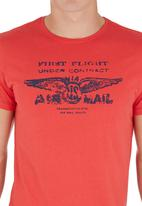 Blend - Graphic T-shirt Red