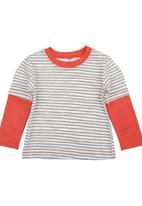 Just chillin - Stripe T-shirt Multi-colour