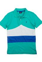POLO - Ryan Cut-and-sew Golf T-shirt Multi-colour