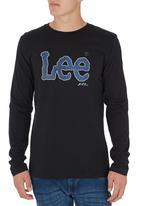 Lee  - Denim Print T-shirt Black