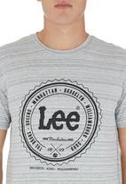Lee  - Regal T-shirt. Grey