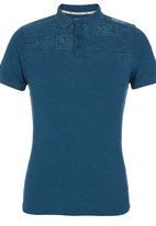 Crosshatch - Leks Golfer Dark Blue