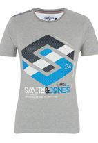Smith & Jones - Stoneleigh Tee Grey