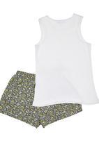 Sticky Fudge - Josephine pyjamas in white and bouquet print