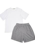 Sticky Fudge - Pyjama set with check print