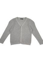 Sticky Fudge - Matilda Jersey in grey melange