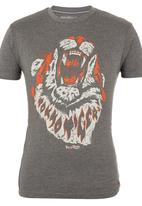 Tokyo Tigers - Mullion Tee Dark Grey