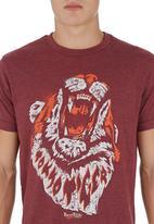Tokyo Tigers - Mullion Tee Red
