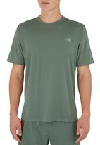 The North Face - Reaxion crew Mid Green