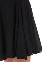 Sensation - Flare Skirt Black