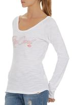 Rip Curl - Edgy Long-sleeve T-shirt White