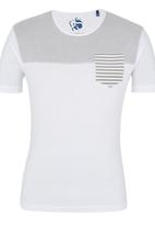 Crosshatch - Reuban T-shirt White