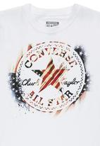 Converse - T-shirt with American Converse Logo