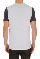 Hurley - One and Only Colourblock T-shirt Grey