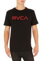 RVCA - Logo T-shirt Black