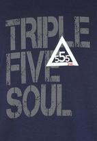 555 Soul - Washington T-shirt Navy
