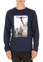 555 Soul - New York T-shirt Navy