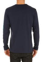 Quiksilver - Mountain Wave T-shirt Navy